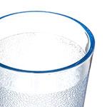 Carlisle 550654 9.5-oz Stackable Tumbler - Polycarbonate, Blue