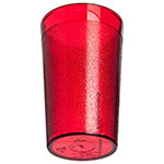 Carlisle 550610 Stackable Tumbler, 9.5 oz., SAN, Ruby