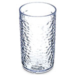 Carlisle 550807 Pebble Optic Tumbler, 8 oz., SAN, Clear