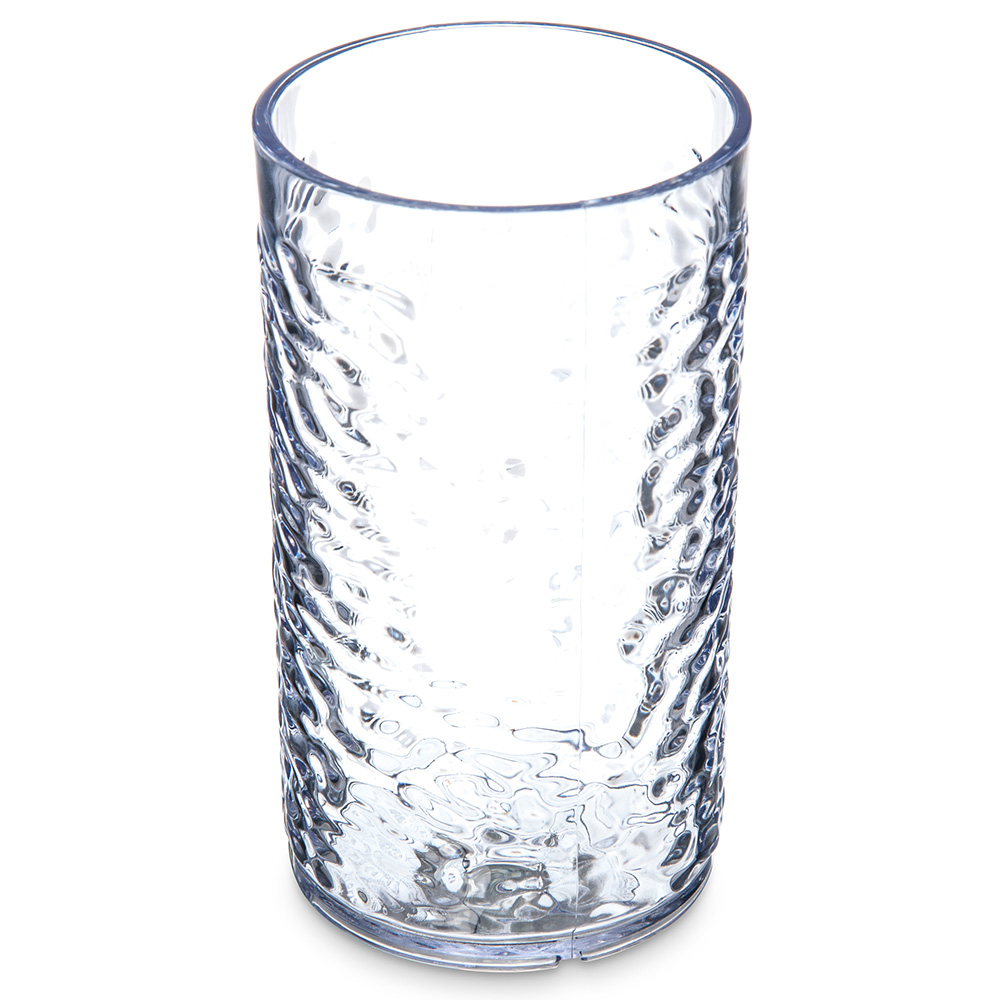 Carlisle 551207 Pebble Optic Tumbler, 12 oz., SAN, Clear