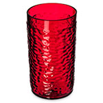 Carlisle 551710 Pebble Optic Tumbler, 16 oz., SAN, Ruby