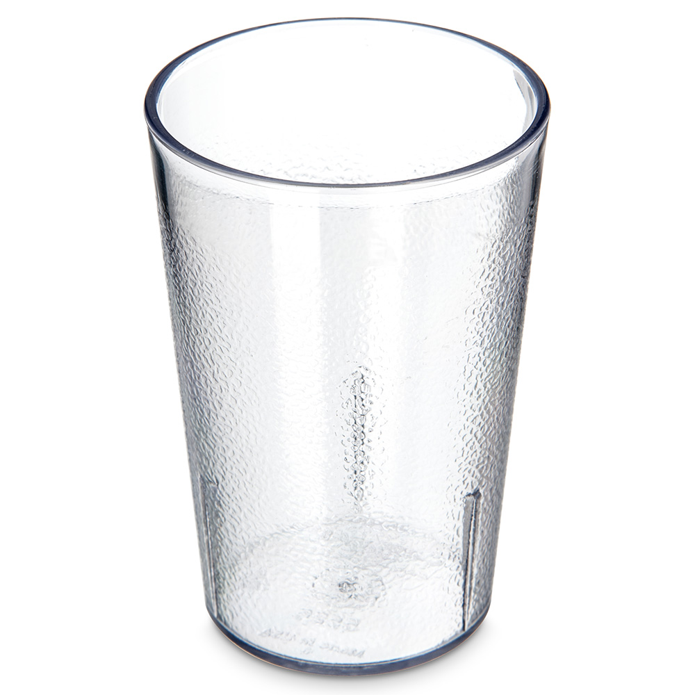 Carlisle 5526-207 8-oz Stackable Tumbler - SAN, Clear