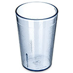 Carlisle 552654 8-oz Stackable Tumbler - Plastic, Blue