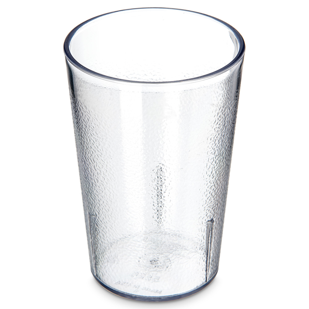 Carlisle 552607 Stackable Tumbler, 8 oz.,  SAN, Clear