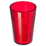 Carlisle 552610 Stackable Tumbler, 8 oz., SAN, Ruby