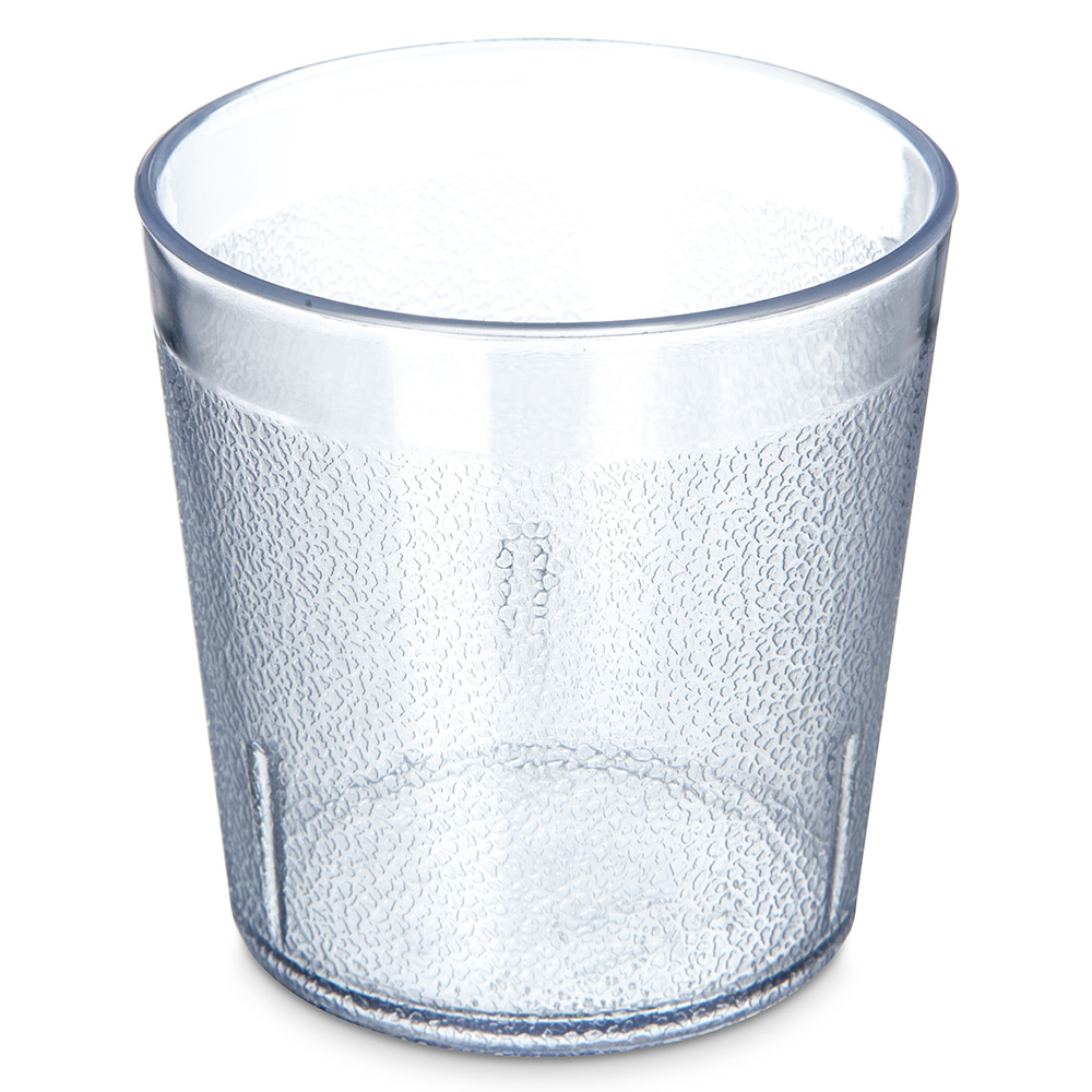 Carlisle 552907 9-oz Stackable Old Fashion Tumbler - Clear
