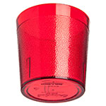 Carlisle 552910 9-oz Stackable Tumbler - Plastic, Ruby