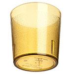 Carlisle 55292A 9-oz Stackable Tumbler - Plastic, Amber