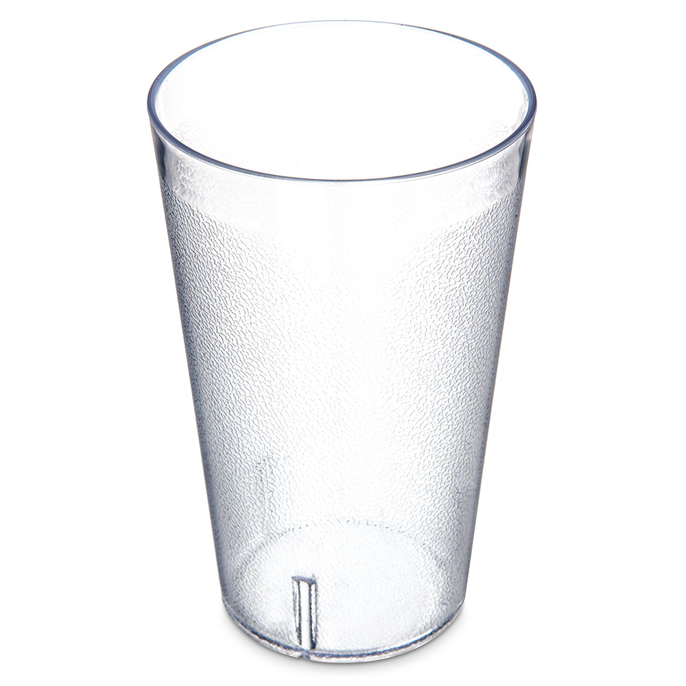 Carlisle 5532-207 32-oz Stackable Tumbler - Plastic, Clear