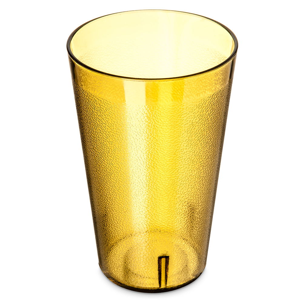 Carlisle 5532-213 32-oz Stackable Tumbler - Amber