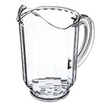 Carlisle 554007 60-oz Pitcher - Polycarbonate, Clear