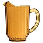 Carlisle 554013 60-oz Pitcher - Polycarbonate, Amber