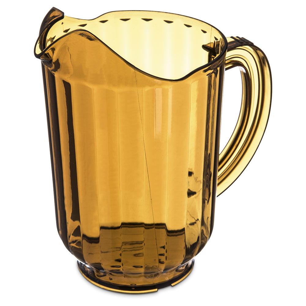 Carlisle 554013 VersaPour Pitcher, 60 oz, Amber