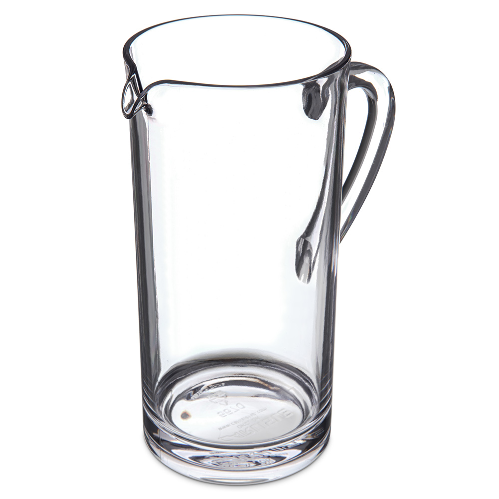Carlisle 557007 58-oz Pitcher - Polycarbonate, Clear
