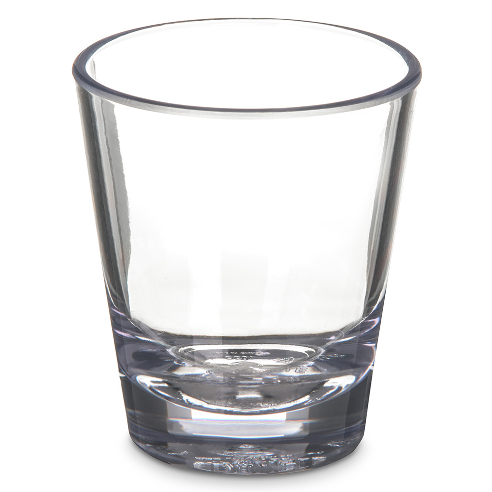 Carlisle 560107 1-1/2-oz Alibi Shot Glass - SAN, Clear