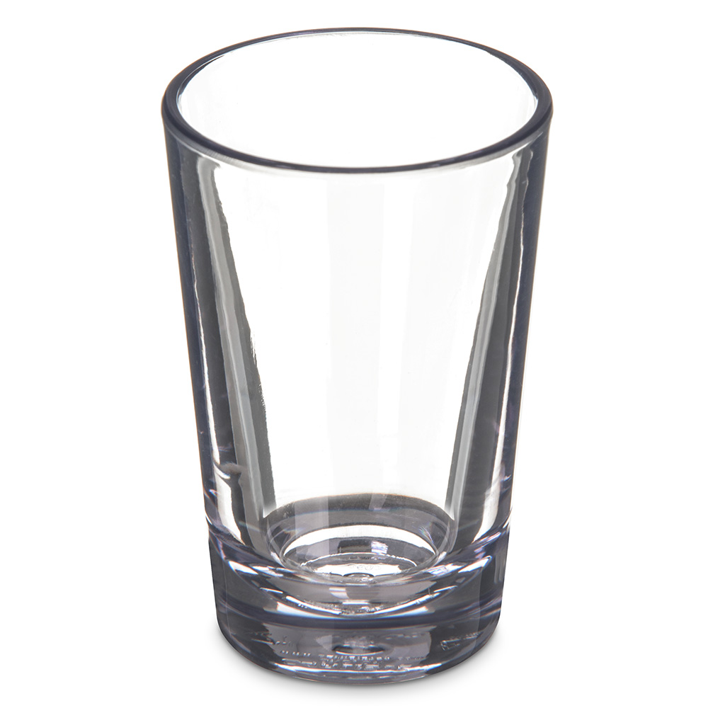 Carlisle 560207 2-oz Alibi Shooter - Clear