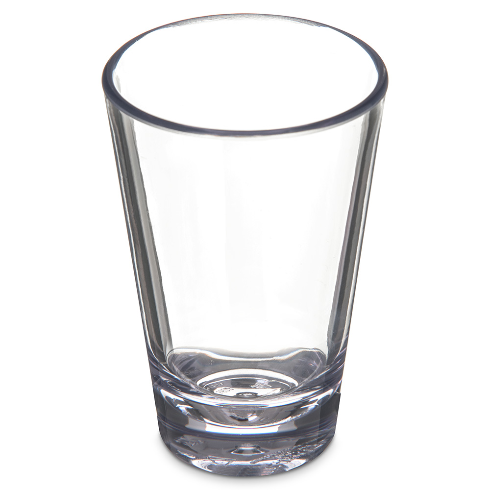 Carlisle 560307 3-oz Alibi Shooter/Mini Dessert Glass - SAN, Clear