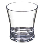Carlisle 560907 9-oz Alibi Rocks Glass - SAN, Clear