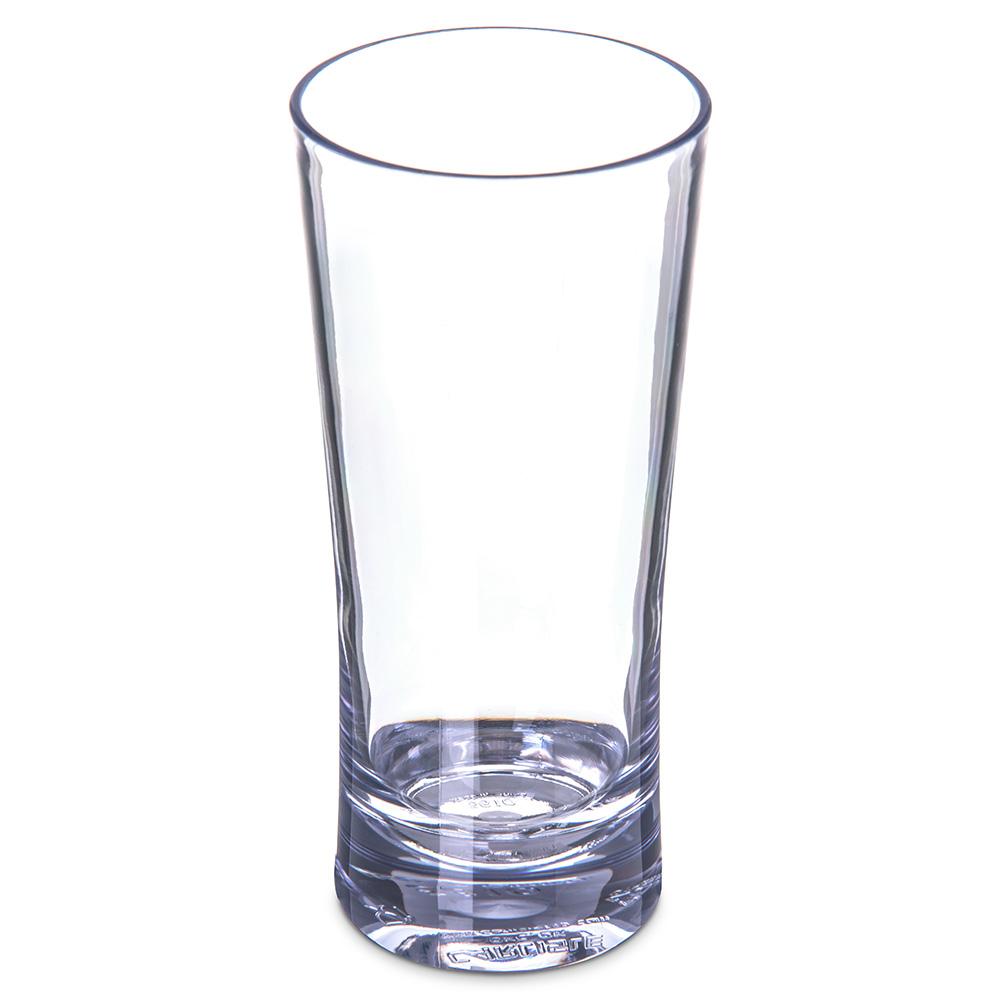 Carlisle 561007 10-oz Alibi Highball Glass - SAN, Clear