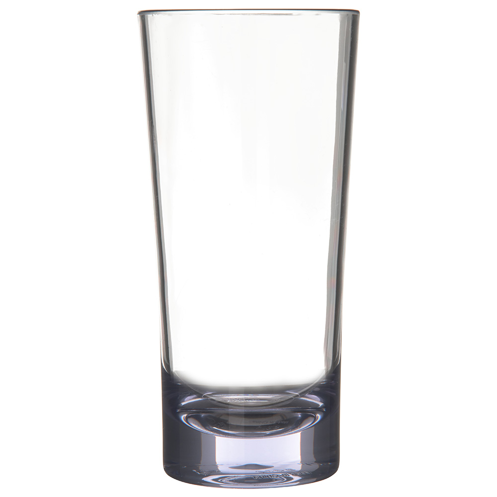 Carlisle 561407 14-oz Alibi Beverage Glass - SAN, Clear