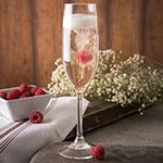 Carlisle 564007 8-oz Champagne Flute - Polycarbonate, Clear