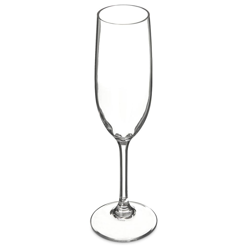 Carlisle 5640-07 8-oz Alibi Champagne Flute - Polycarbonate, Clear