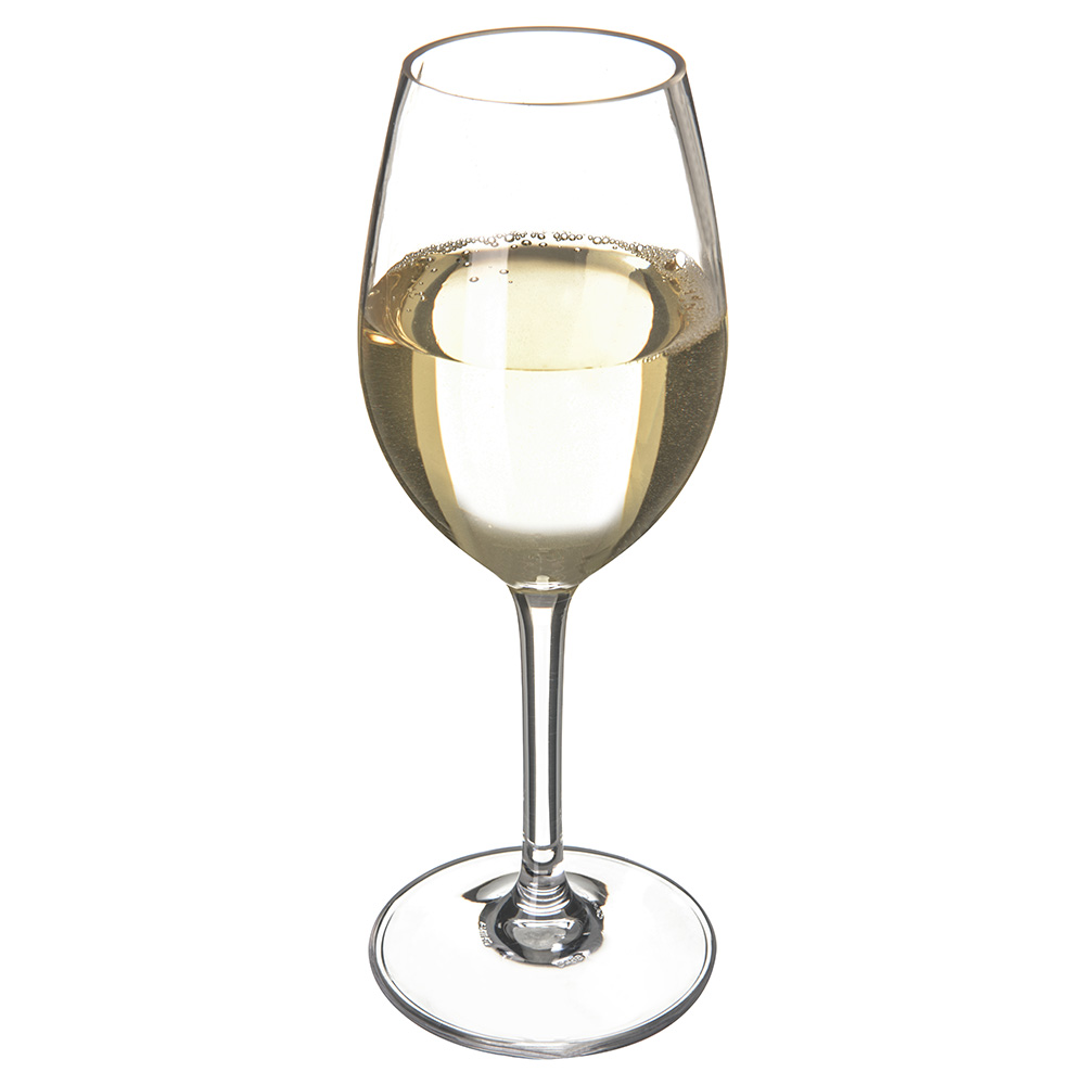 Carlisle 5643-07 11-oz Alibi White Wine Glass - Polycarbonate, Clear