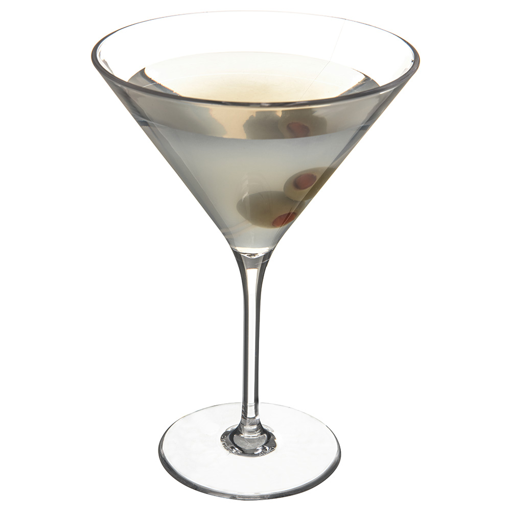Carlisle 564607 9-oz Alibi Martini Glass - Clear