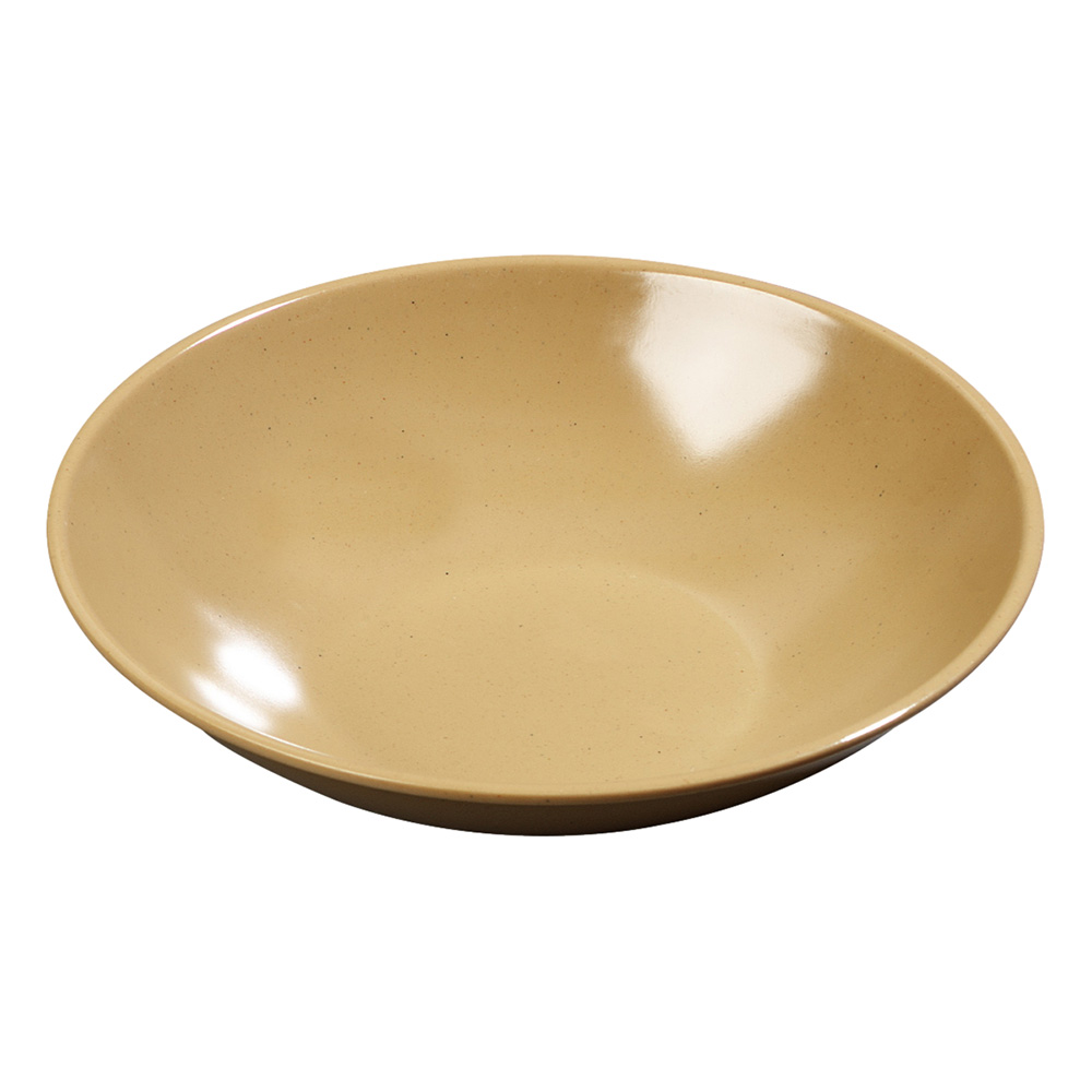 Carlisle 575M20 Salad Bowl, 6 in, 13 oz., Melamine, Maple, NSF