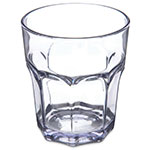 Carlisle 581207 12-oz Louis Rocks Tumbler - Clear