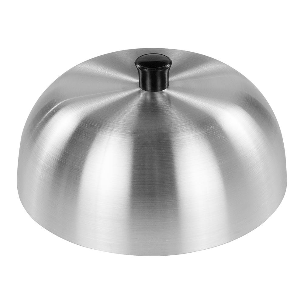 """Carlisle 60103 6"""" Burger Cover -  Aluminum"""