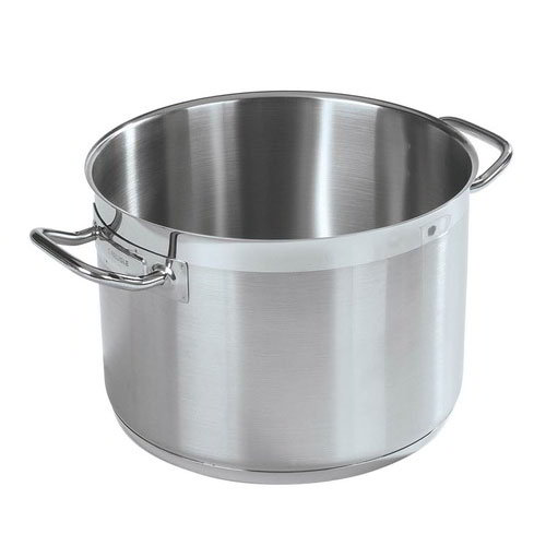Carlisle 601116 16-qt Stock Pot - Induction Compatible, 18/10 Stainless