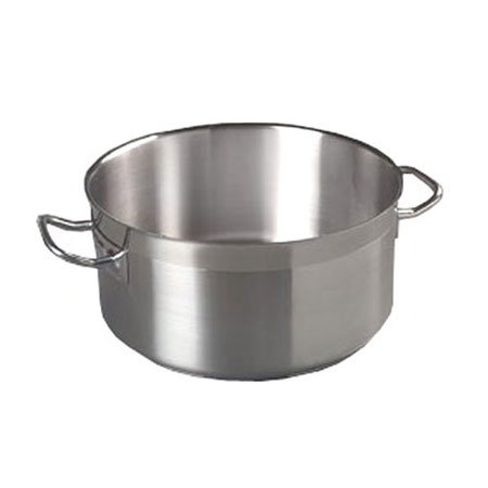 Carlisle 601125 24-qt Stock Pot - Induction Compatible, 18/10-Stainless