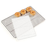 Carlisle 601306 Icing Grate - Full-Size Bun/Sheet Pan, Nickel Plated Steel