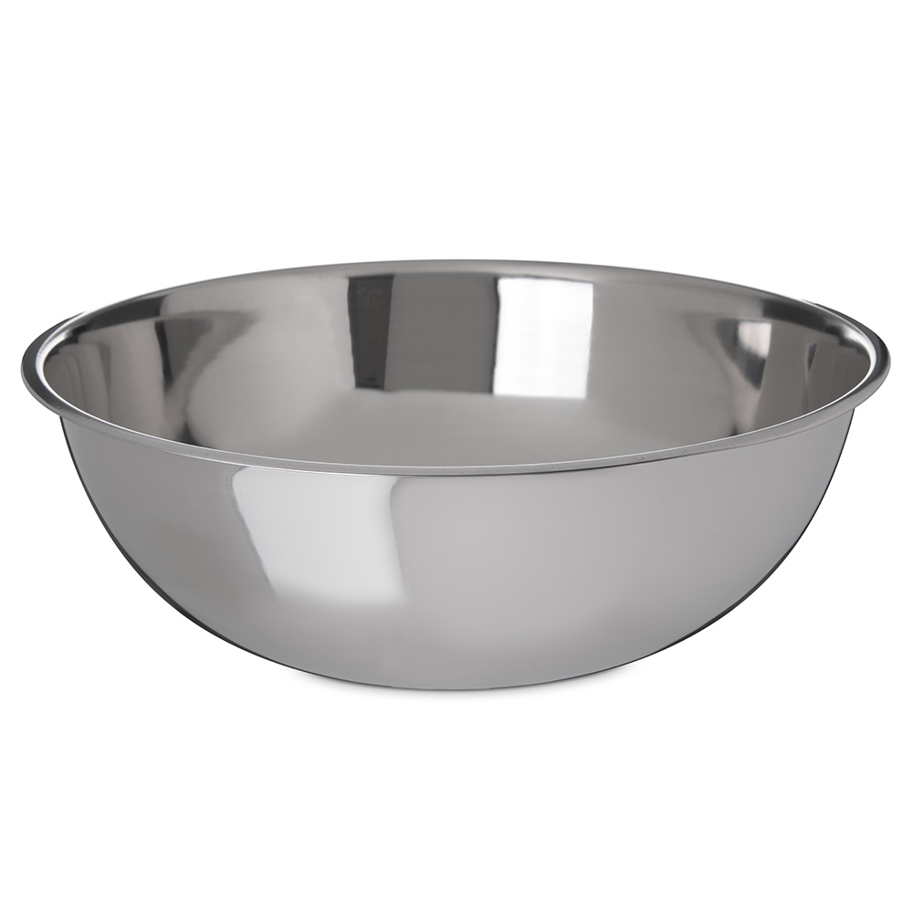 Carlisle 601420 20-qt Classic Mixing Bowl - Stainless Steel