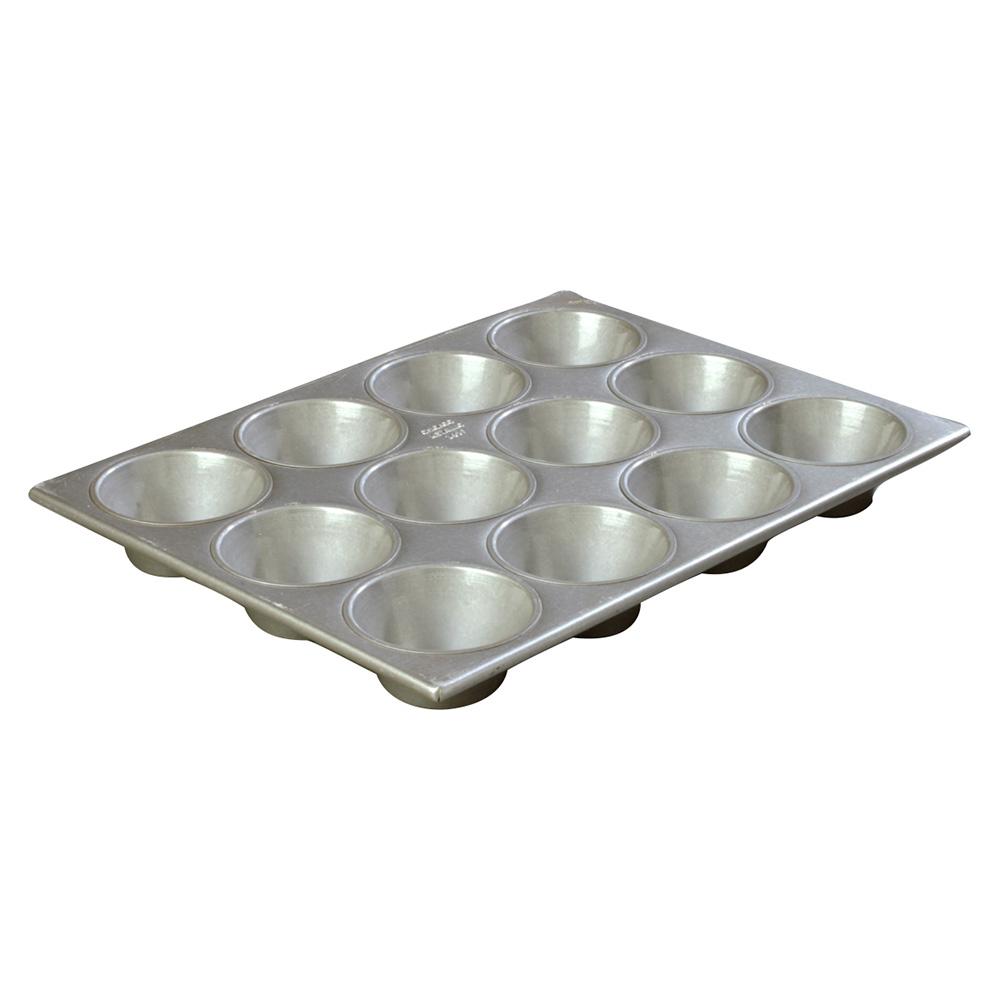 Carlisle 601837 Cupcake Pan w/ (12) 6-oz Cup Capacity, Aluminized Steel