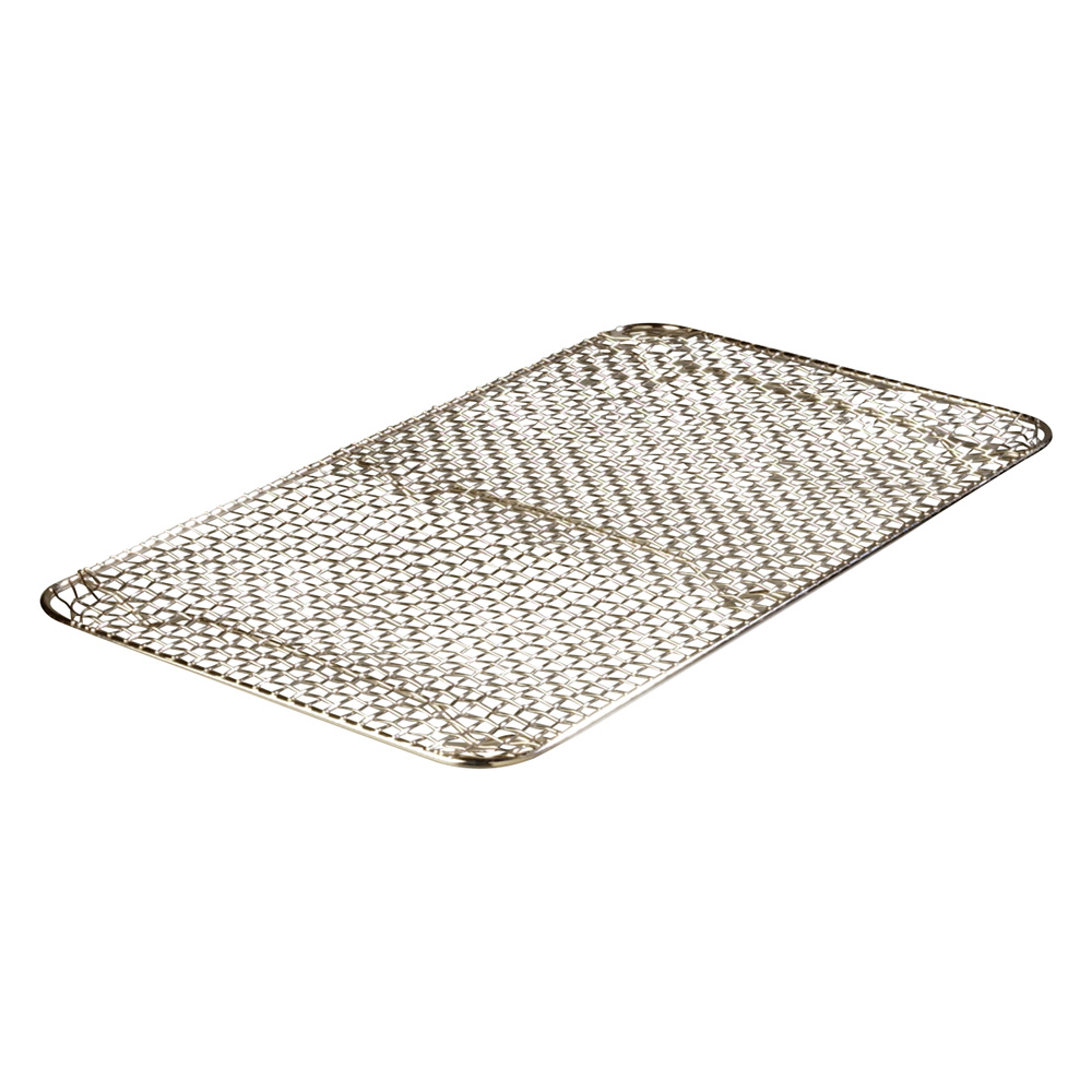 "Carlisle 602202 Drain Grate - 18x10-1/2"" Chrome Plated"