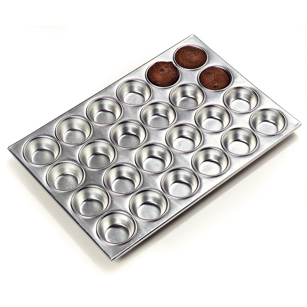Carlisle 602424 Muffin Pan w/ (24) 3-oz Cups, Aluminum