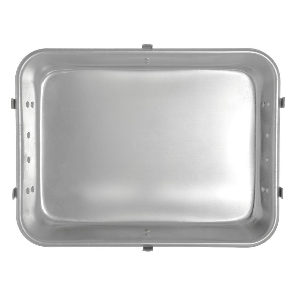 """Carlisle 60345 26-qt Roast Pan - 24"""" x 18"""" x 4.5"""", Aluminum"""