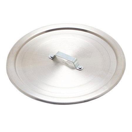 """Carlisle 604013 13"""" Flat Saucepan Cover - Aluminum"""