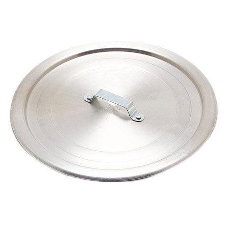Carlisle 60490 20-in Dia Flat Cover w/ Handle, Heavy Duty Aluminum