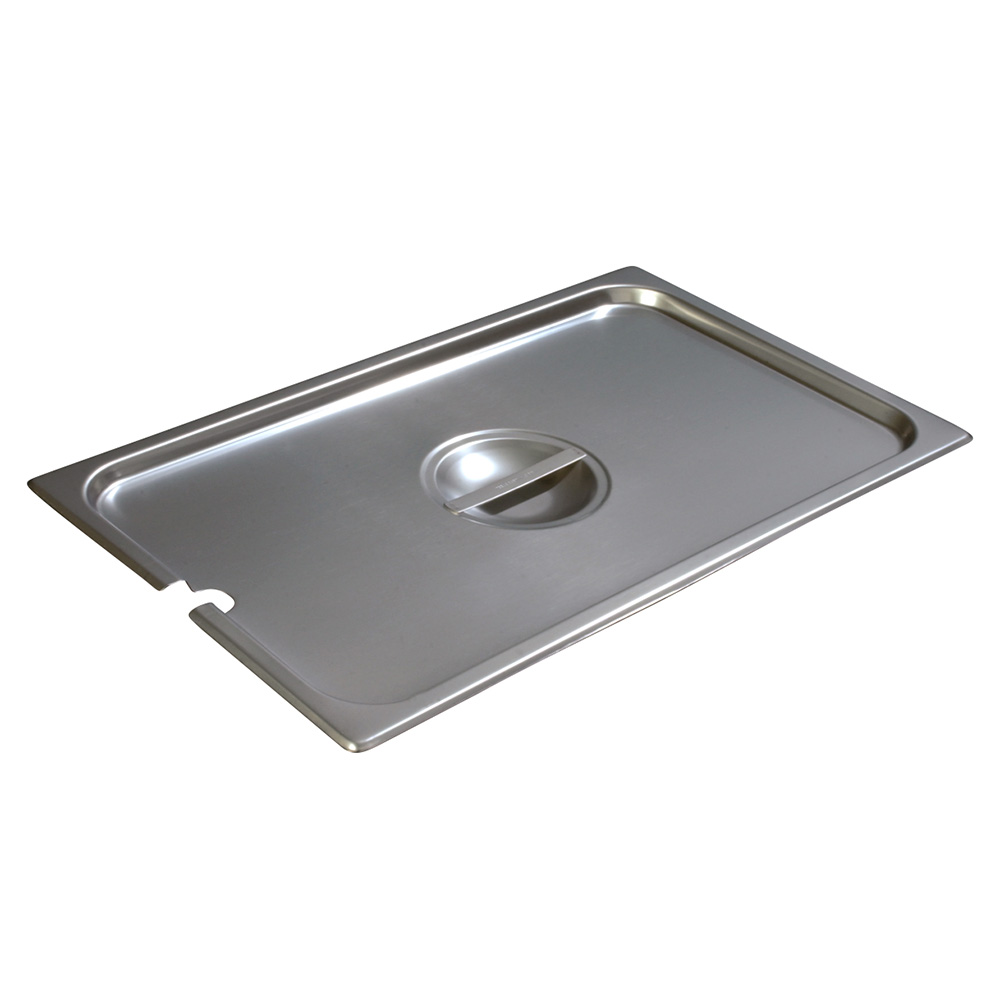 Carlisle 607000CS Full-Sized Steam Pan Cover, Stainless