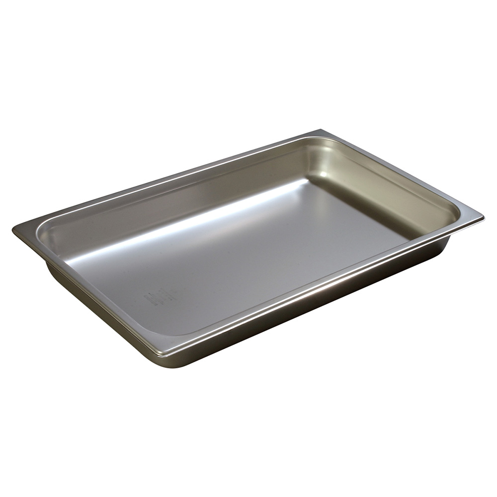 Carlisle 607002 Full-Sized Steam Pan, Stainless