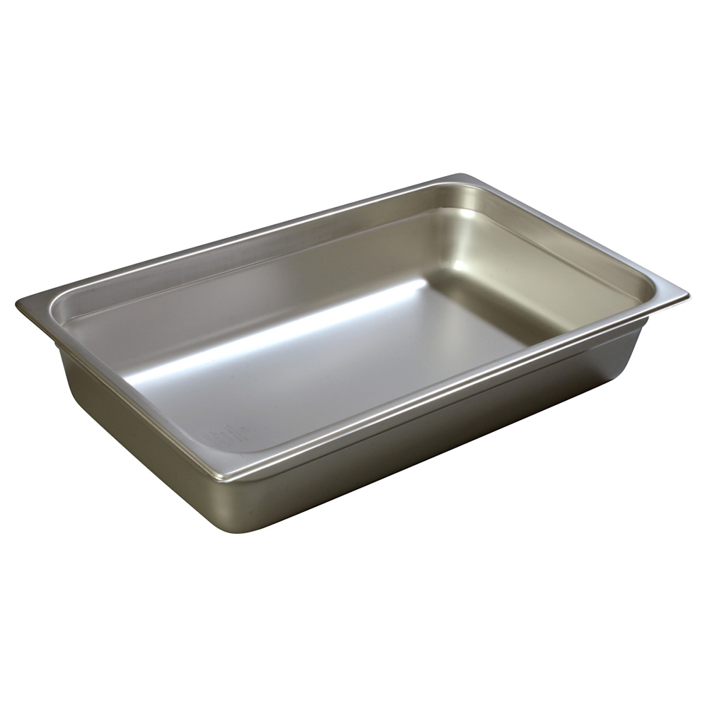 Carlisle 607004 Full-Sized Steam Pan, Stainless