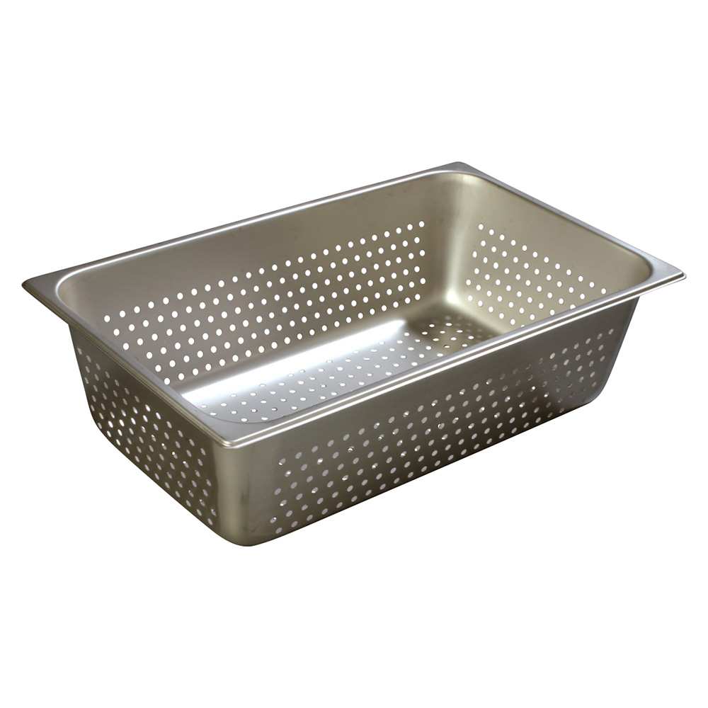 Carlisle 607006P Full-Sized Steam Pan, Perforated, Stainless