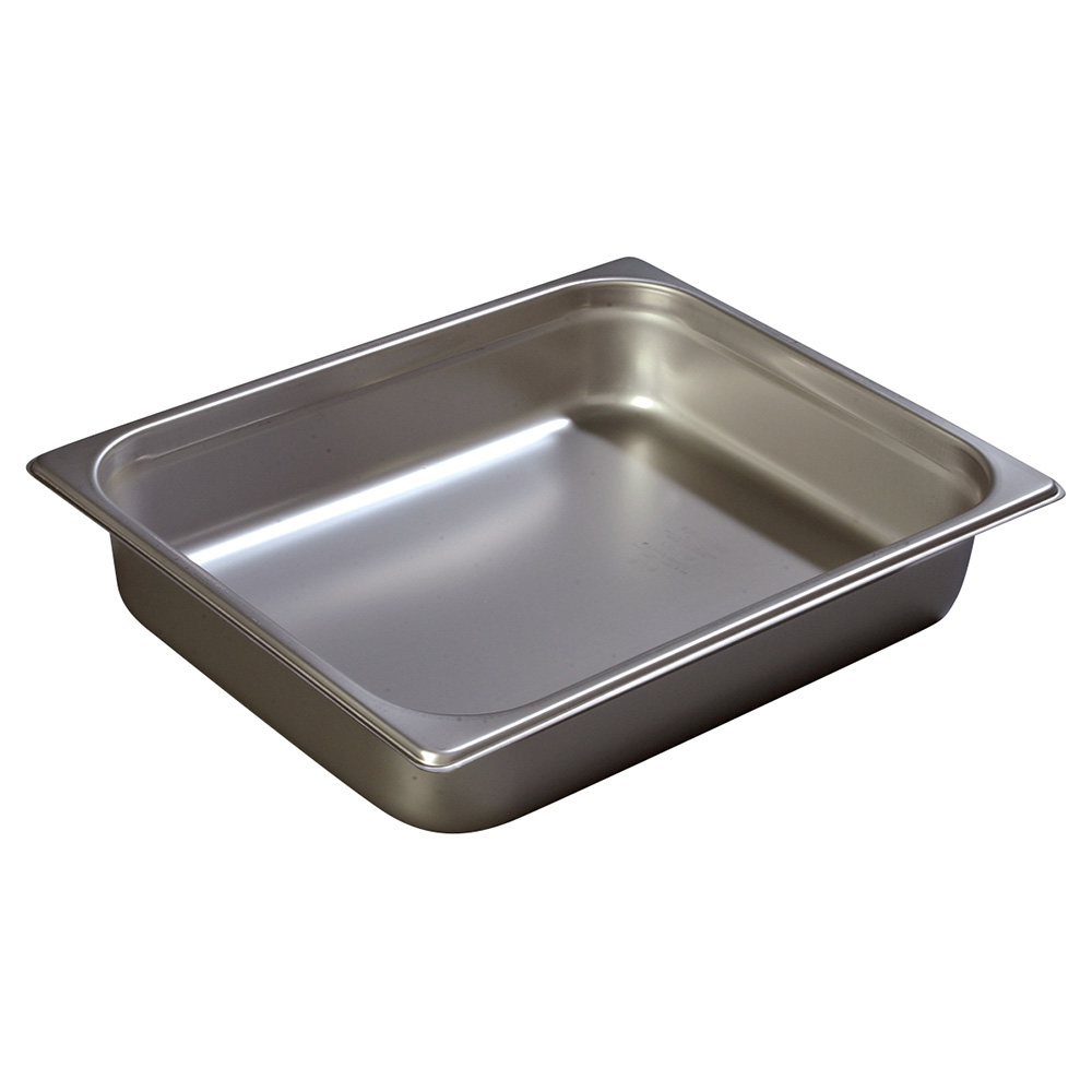 Carlisle 607122 Half-Sized Steam Pan, Stainless