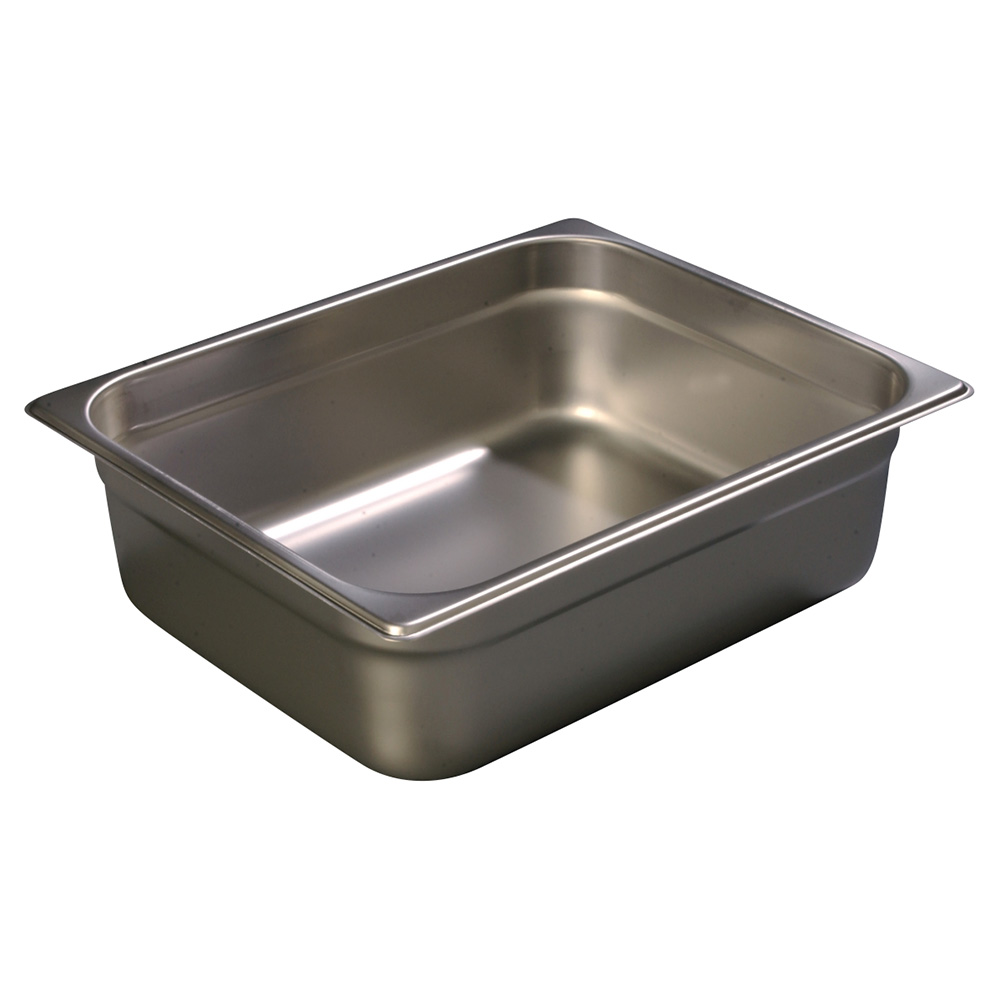 Carlisle 607124 Half-Sized Steam Pan, Stainless