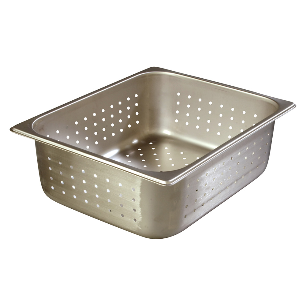 Carlisle 607124P Half-Sized Steam Pan, Stainless