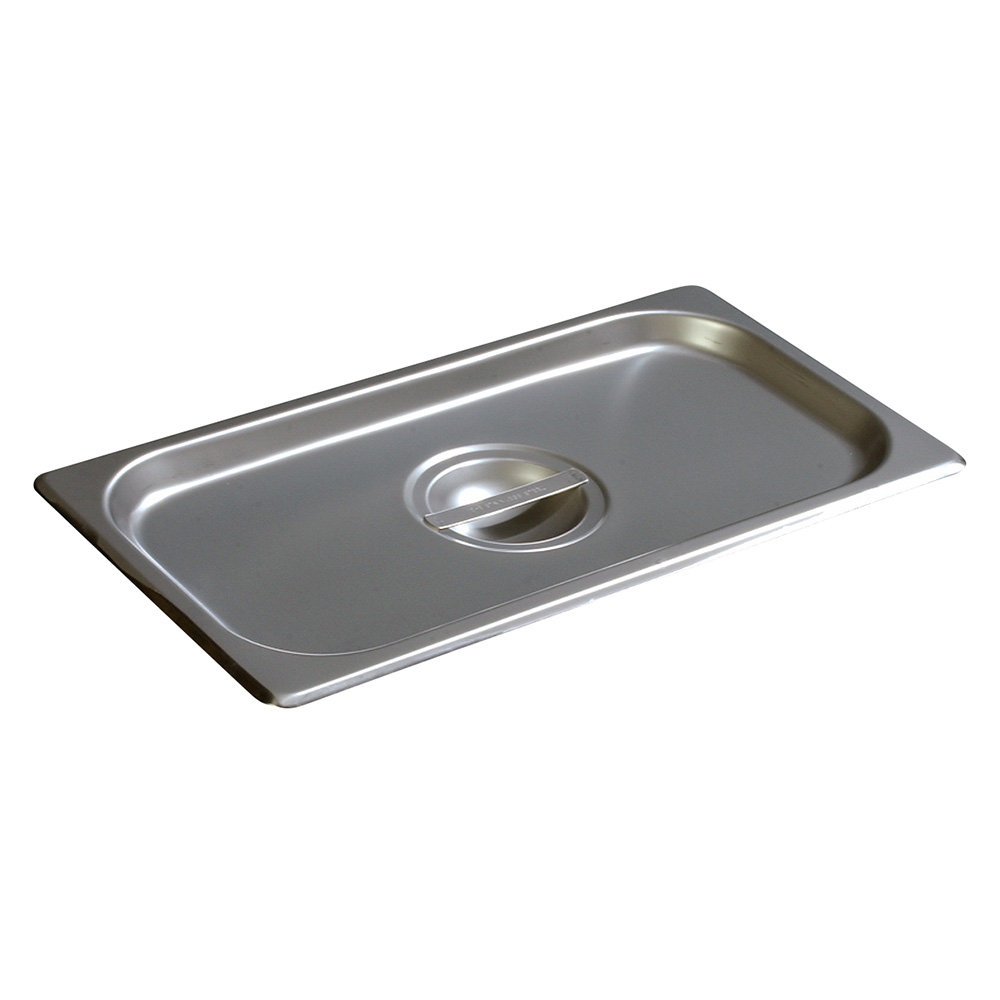 Carlisle 607130C Third-Size Steam Pan Cover, Stainless