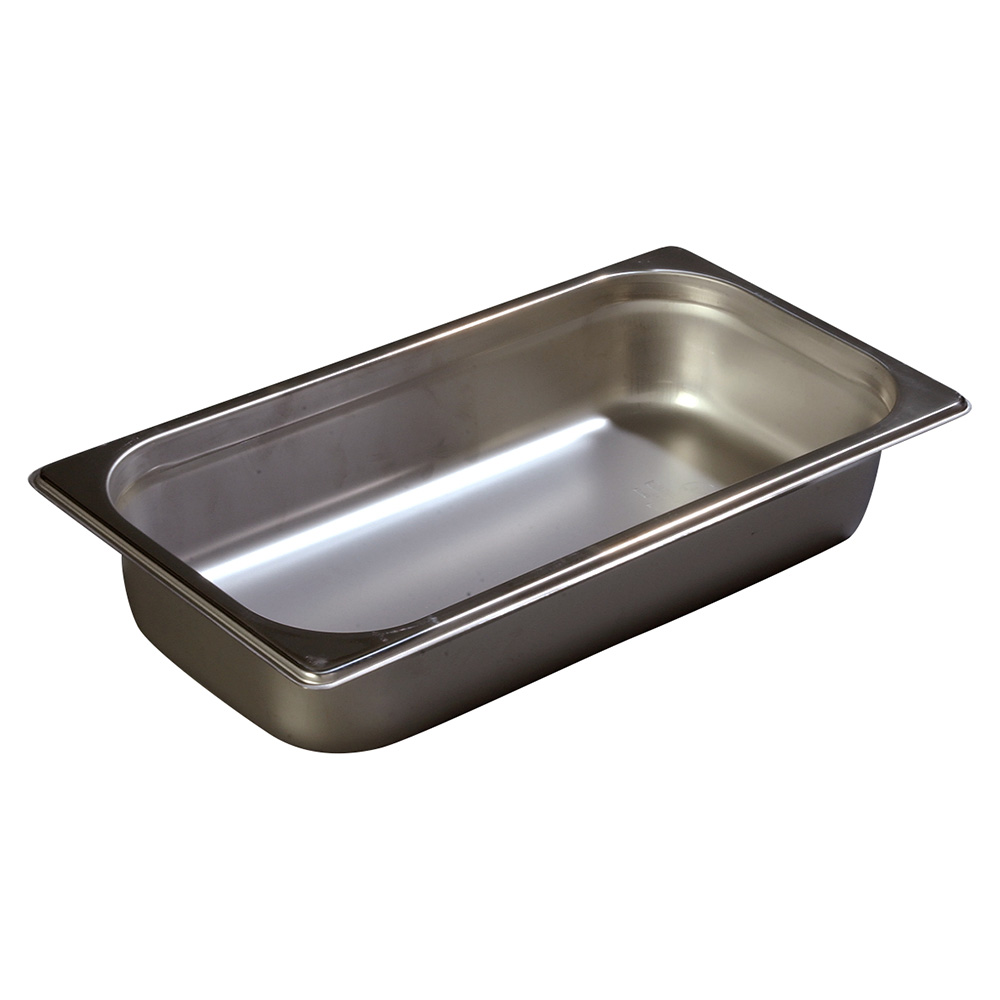 Carlisle 607132 Third-Size Steam Pan, Stainless